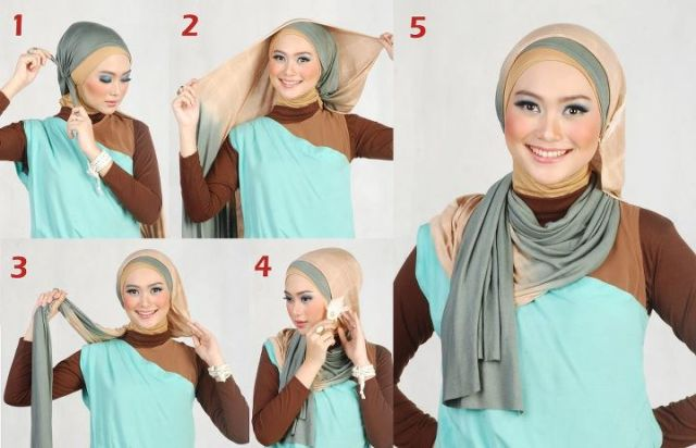 How to Use Hijab by Moshaict (This Picture is copyright of Moshaict)